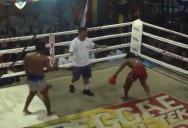 Тайский бокс или реслинг?