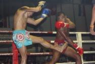 Тайский бокс между чемпионами на острове Самуи