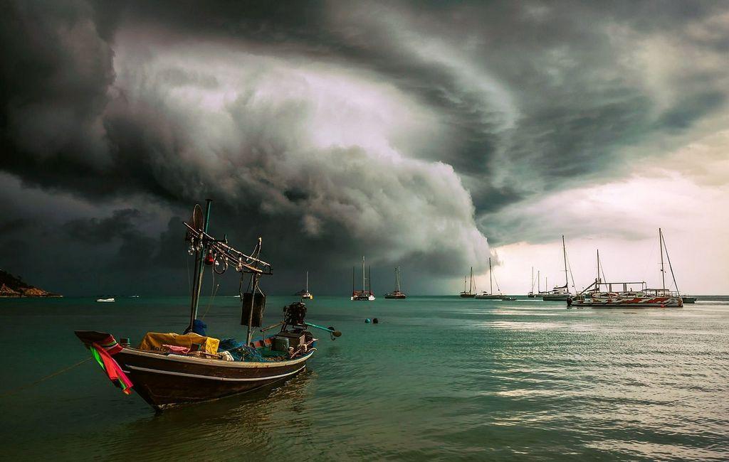 Предупреждение о сложных погодных условиях в провинциях, расположенных на берегу Андаманского моря