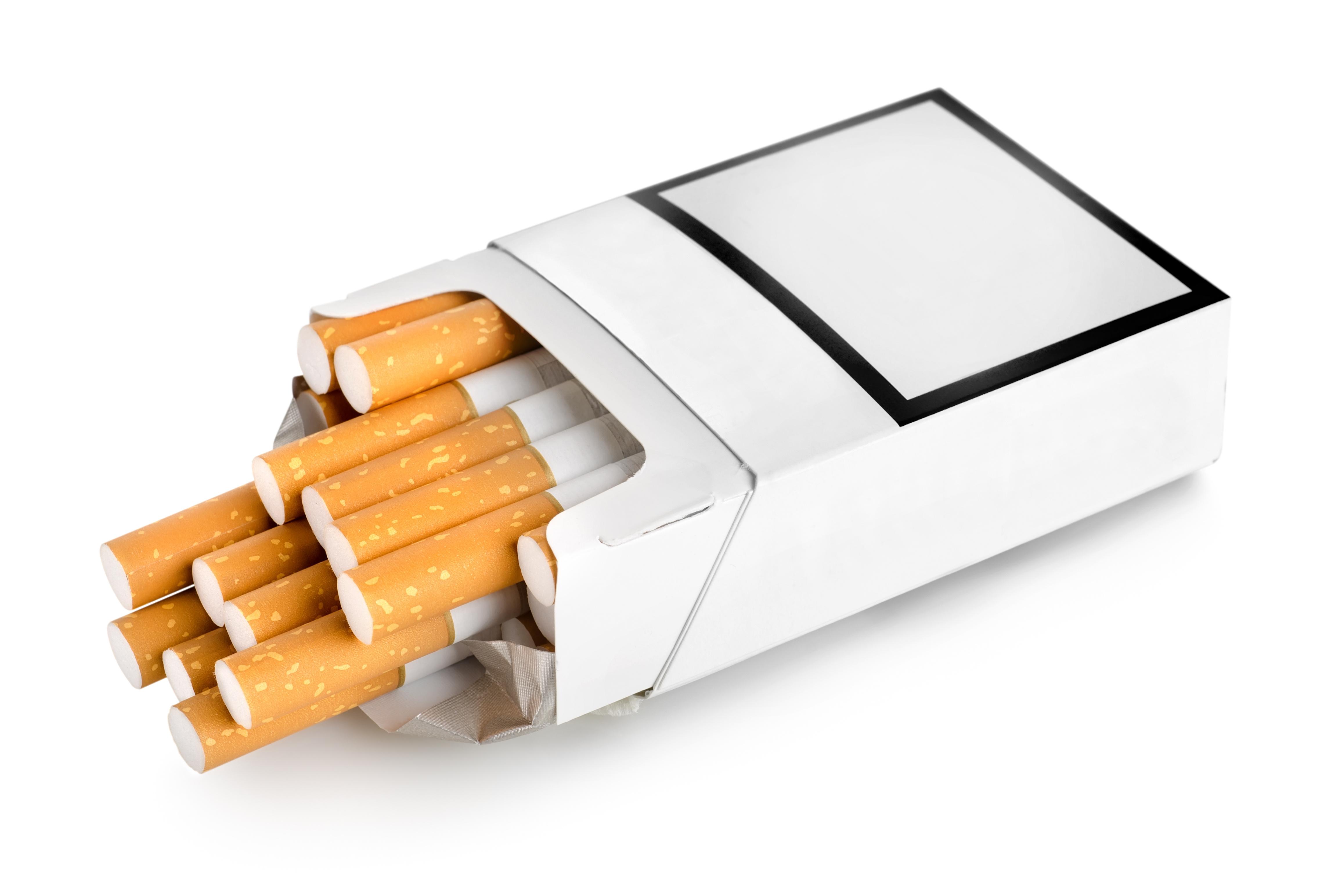 В Таиланде сигареты начнут продавать в одинаковых пачках