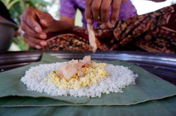 Кхмерская кухня. Традиционное блюдо — рисовое пирожное