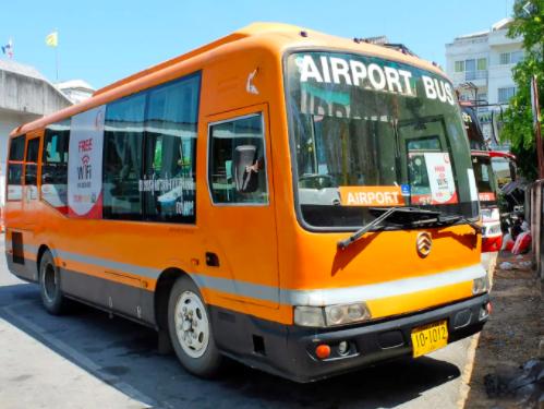 Автобусное сообщение между Аэропортом Пхукета и Пхукет-Тауном возобновлено