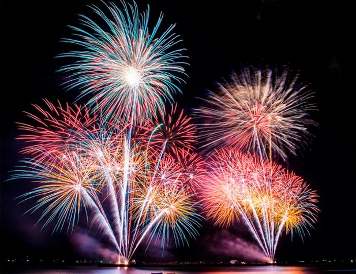 Фестиваль фейерверков в Паттайе