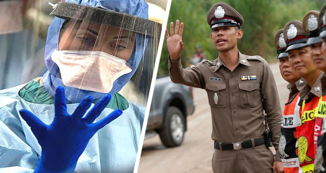 По Таиланду стремительно распространяется комендантский час