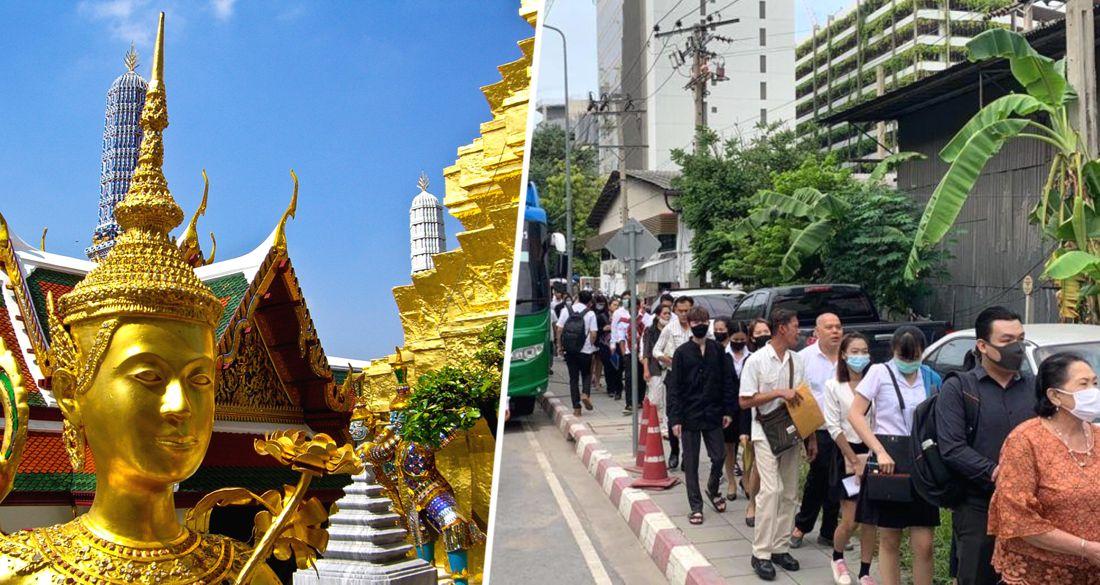 В Таиланде открывшийся отель собрал многотысячную очередь из претендентов на работу