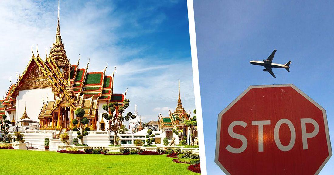 В Таиланде граждане проголосовали против иностранных туристов