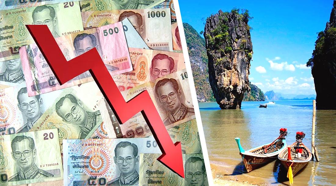 Тайский бат достиг 7-месячного минимума, цены на отели начали падать