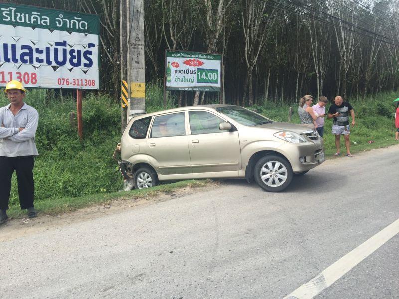 Таксиста, бросившего авто на месте ДТП, обвиняют лишь по одной статье