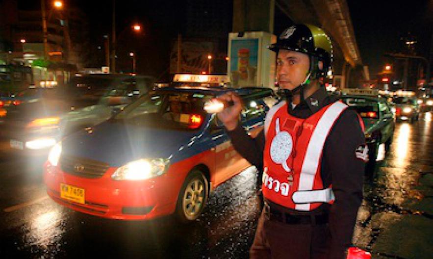 Новый Закон дорожного движения Таиланда
