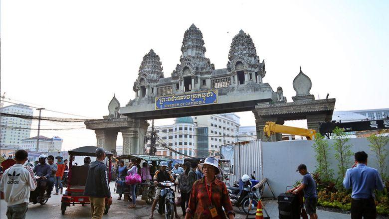 Торговля Камбоджи с Таиландом не изменилась на фоне ограничения движения