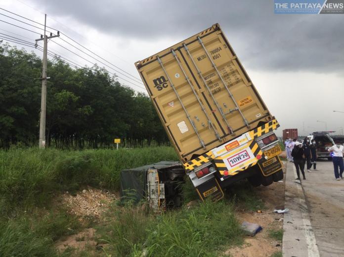 В Бангламунге случилась авария с участием грузовиков