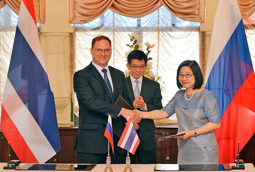 Российская деловая бизнес миссия прибывает в Таиланд