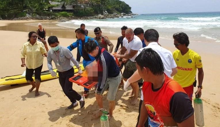 Российский турист утонул в Таиланде