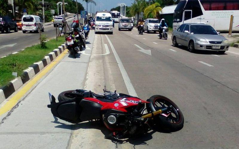 В Ко-Кэу погиб в ДТП мотоциклист