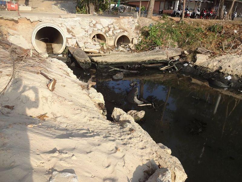 В отелях Камалы провели ревизию на предмет слива сточных вод в канал