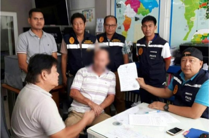 В Патонге за оверстей задержаны двое иностранцев