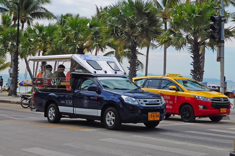 В Паттайе более 500 сонгтео не вышли на маршруты из-за отсутствия клиентов