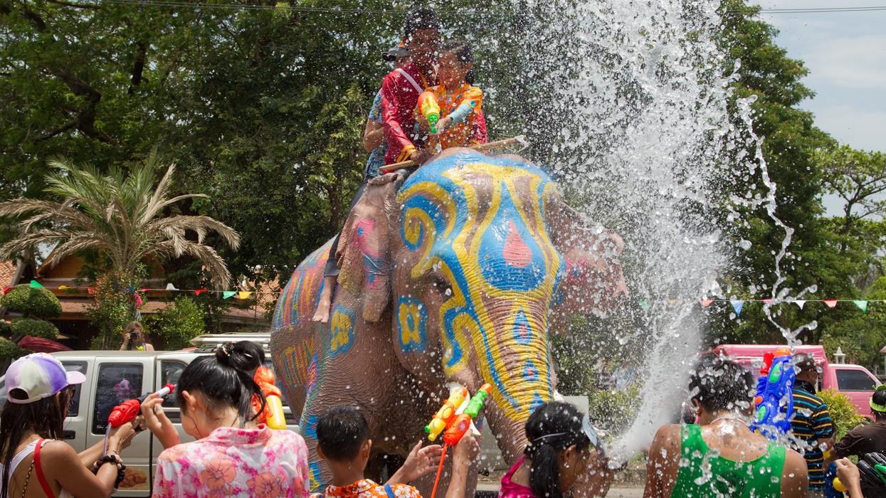В Сонгкран в Таиланде будет пять выходных