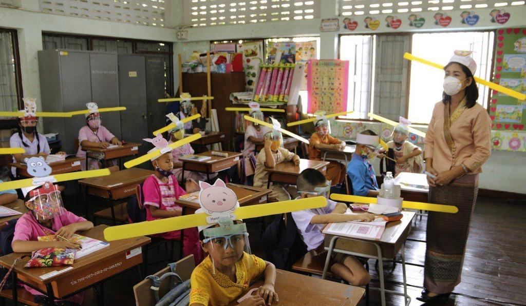 Международные школы Таиланда не падают духом даже во время смертельной угрозы COVID-19