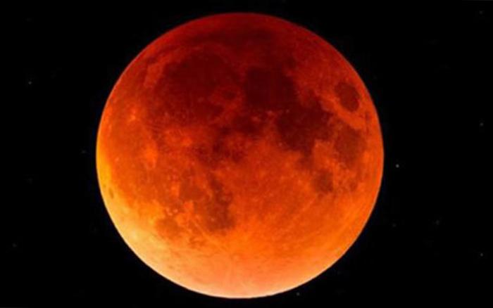 Первая Кровавая Луна года - полное лунное затмение 31 января