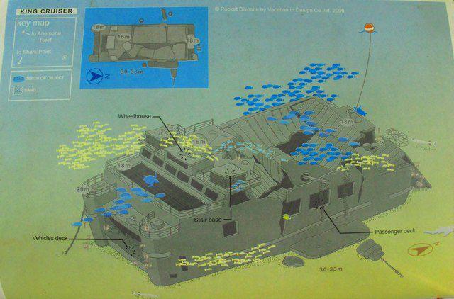 Карты дайв-сайтов Пхукета