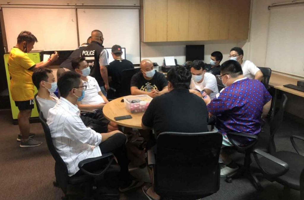 В Таиланде продолжаются аресты любителей азартных игр