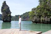 Кинотеатр на воде возле острова Yao Noi (Тайланд)