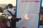 Солнечное затмение - Пхукет 9 марта 2016