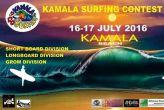 Kamala surfing contest