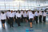 Церемония Памяти короля Пхумипона Адульядета. Аэропорт Пхукета