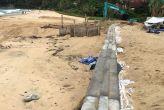 В Кароне началось благоустройство прибрежной зоны