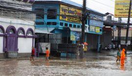 Сильные дожди спровоцировали ряд локальных наводнений на Пхукете и обвал грунта в Калиме