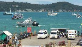 На Пхукете отработали спасение жертв кораблекрушения. В среду, 19 сентября, на Пхукете прошли совместные учения гражданских и военных специалистов служб спасения.