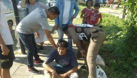 Два мотоцикла протаранили пикап на главном шоссе Пхукета. Полиция предъявила обвинения молодым мотоциклистам, проигнорировавшим запрещающий сигнал светофора и протаранившим пикап на Thepkrasattri Rd. в Таланге