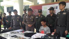 На ПХУКЕТА  арестовали подозреваемого в автомобильных кражах