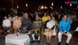 Тхаланг 14 марта. Световое шоу