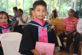 Вручение дипломов в детском учреждении