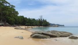 Пляж Лаем Синг на Пхукете, спрятанный от посторонних глаз