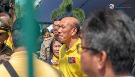 Премьер-министр Таиланда на открытии тоннеля Чалонг-Раваи