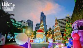 Фото: Главная новогодняя ель Таиланда в Бангкоке