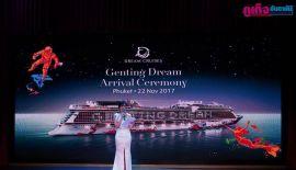 Genting Dream. Arrival Ceremony. Phuket 22 Nov