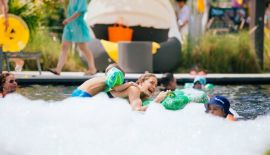 "Brunch Foam Pool Party ""GETWETATCASSIA"""