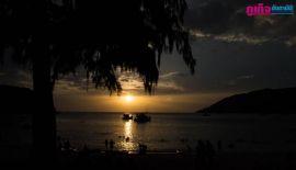 Закат на пляже  Beach Ya Nui