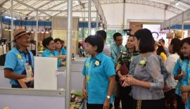 "Opening ceremony of ""The Charm Of Samut Prakan"". 29 September-3 October 2561 Central Park, Phuket city"