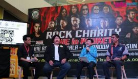 Rock Charity Live in Phuket