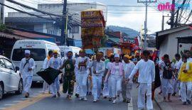 Вегетарианский фестиваль на Пхукете: 17 октября  финальная процессия