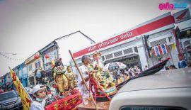 Вегетарианский фестиваль на Пхукете: 16 октября  Церемония шествия, организованная  храмом храма Kathu Shrine