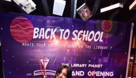 GrandOpeningParty The library Phuket