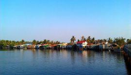 Камбоджа, Кампот: по ту сторону моста или облака и соль
