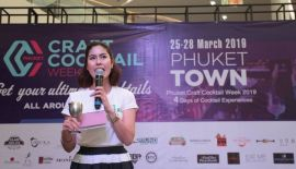 Phuket craft cocktail week 2019, C 25 to 28 March // For more info at: Facebook/Phuket Craft Cocktail Week